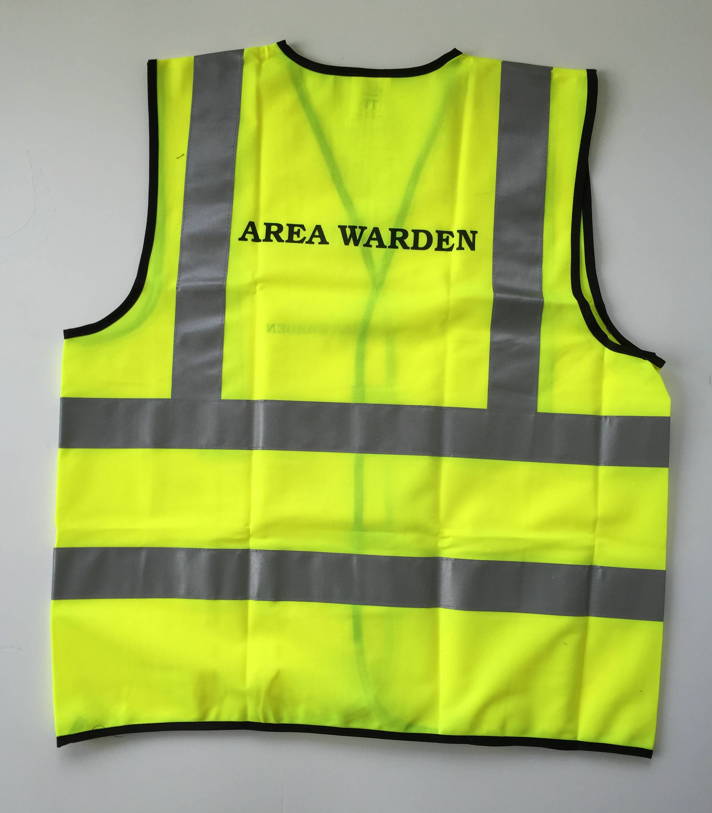 Area Warden Vest FirstAction Emergency Ready
