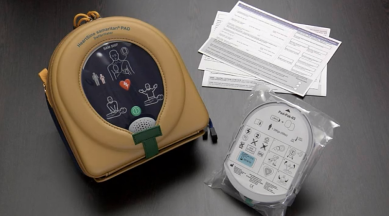 Unpacking and setting up the Samaritan 500P defibrillator