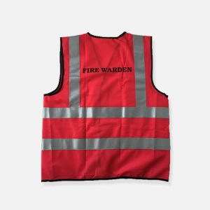 Fire Warden Vest Back WEB